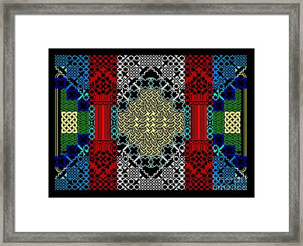 Celtic Builder1 Framed Print