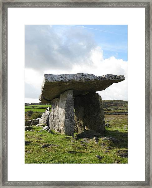 Framed Print featuring the photograph Celtic Portal by Barbara Von Pagel