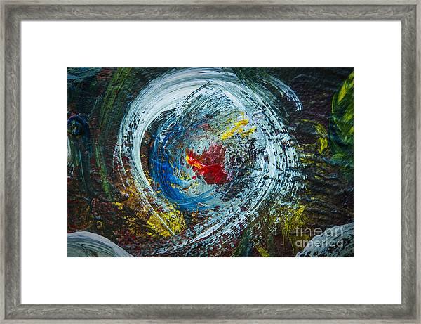 Centered Heart Framed Print