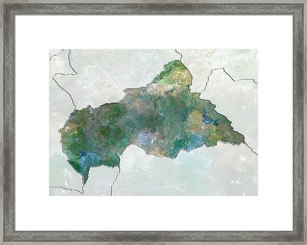 Central African Republic Framed Print