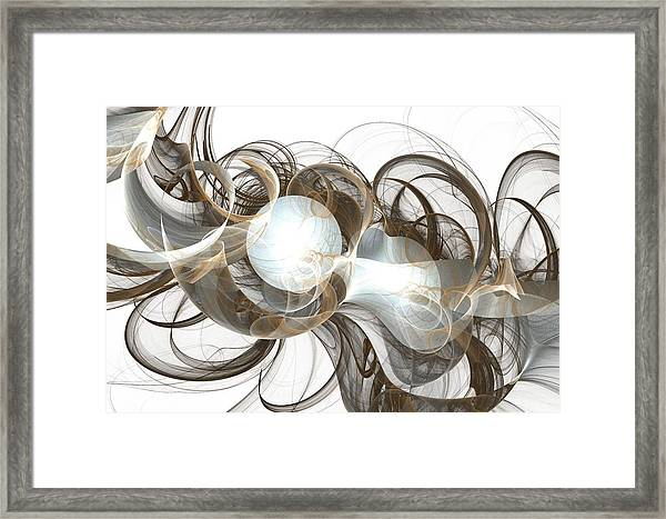 Central Core Framed Print