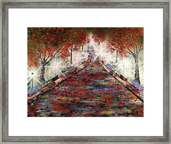 Central Park - New York Framed Print