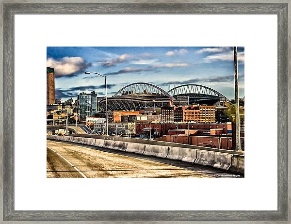 Century Link Field Seattle Washington Framed Print