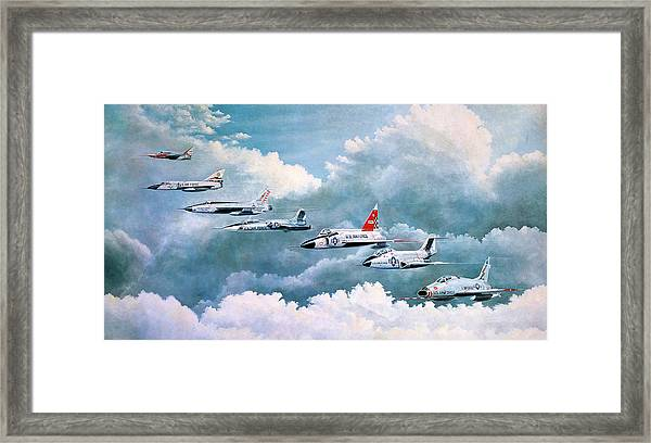 Century Series Fantasy Formation Framed Print