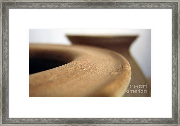 Ceramics Framed Print