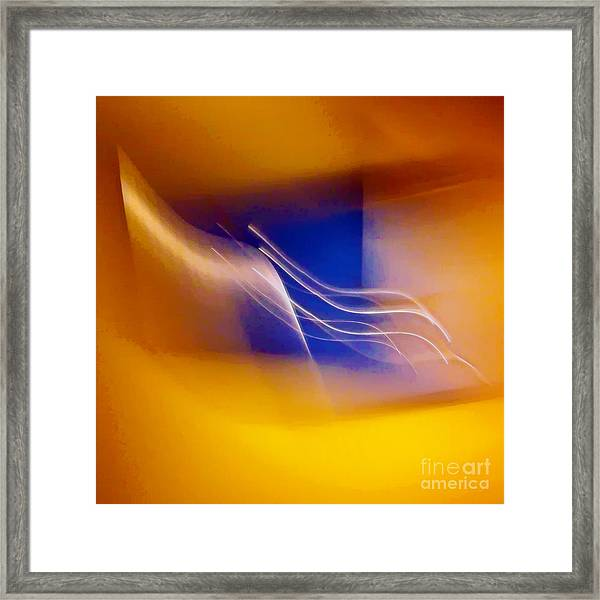 Cercle Des Fourches Framed Print