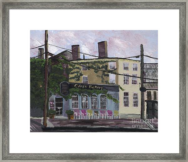 Ceres Bakery Framed Print