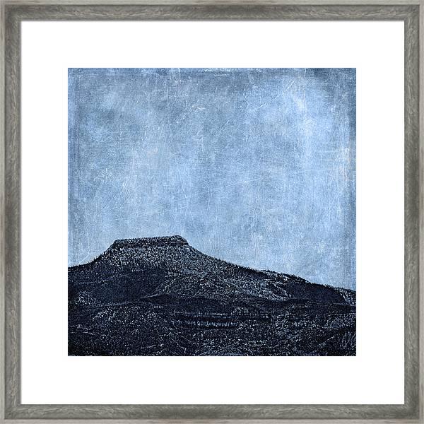 Cerro Pedernal Framed Print