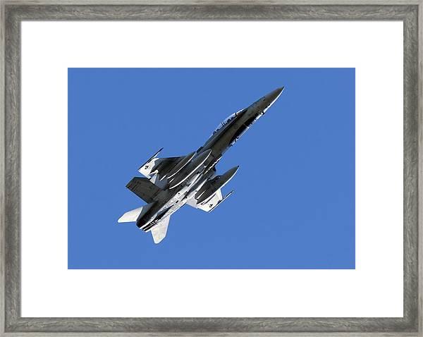 Cf-18 Hornet Framed Print