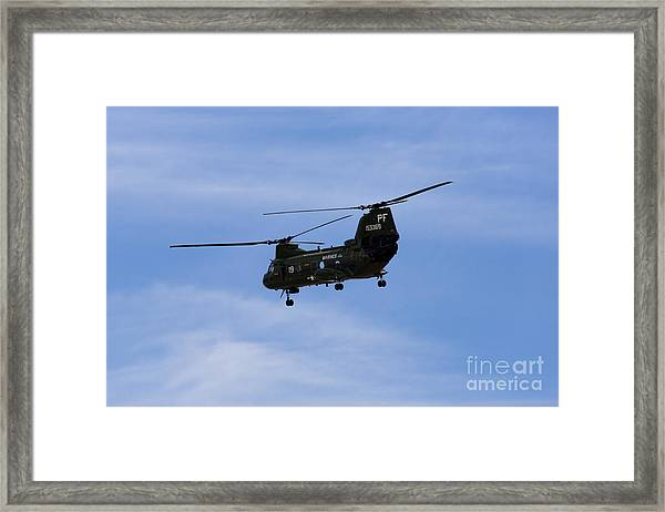 Ch-46 Vietnam Era Paint Framed Print