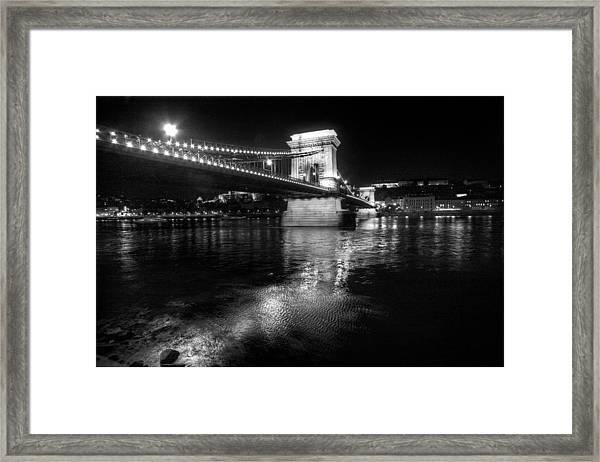 Chain Bridget Budapest Framed Print