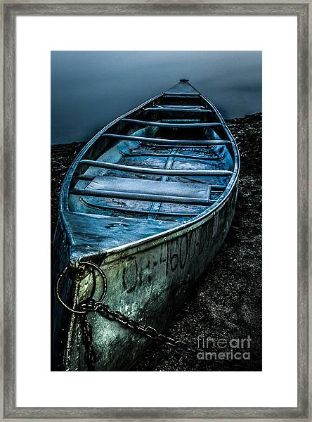 Chained At The Waters Edge Framed Print