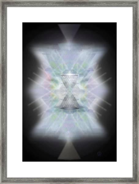 Chalice Emerging Framed Print by Christopher Pringer