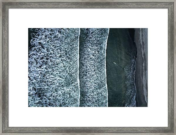 Challenger Framed Print