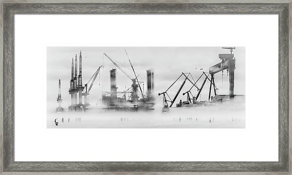 Change Of Shift Framed Print