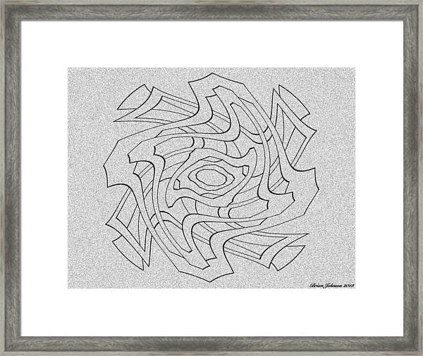 Changes Tile Framed Print