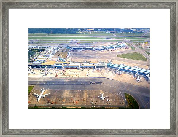 Changi Airport Framed Print