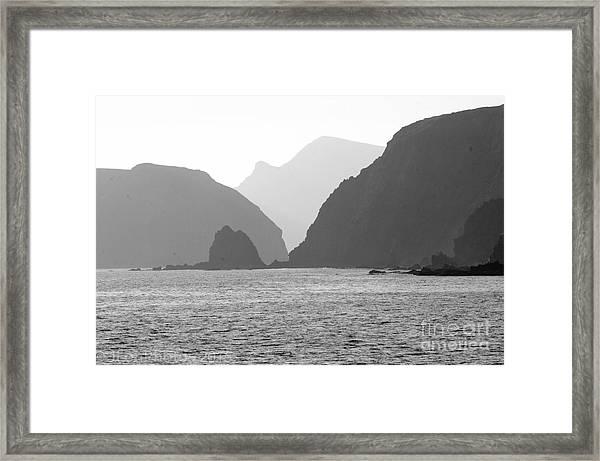 Channel Islands Sunset Framed Print