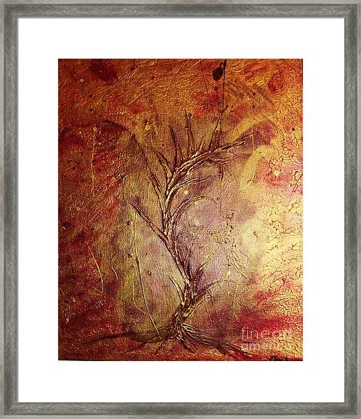 Chaos - The Bleeding Tree  Framed Print