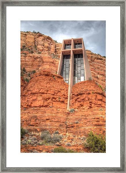 Chapel Of The Holy Cross Framed Print