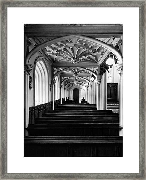 Chapel Royal In Dublin Castle Framed Print