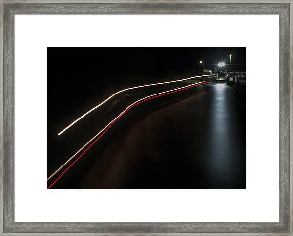 Chappy Ferry Light Framed Print