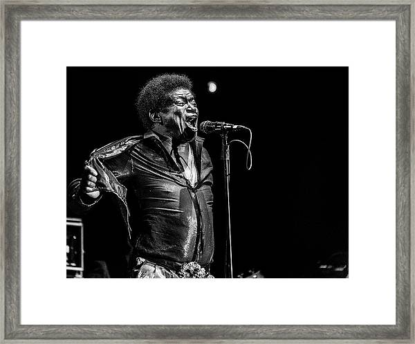 Charles  Bradley  In Memory Framed Print by Jois Domont (