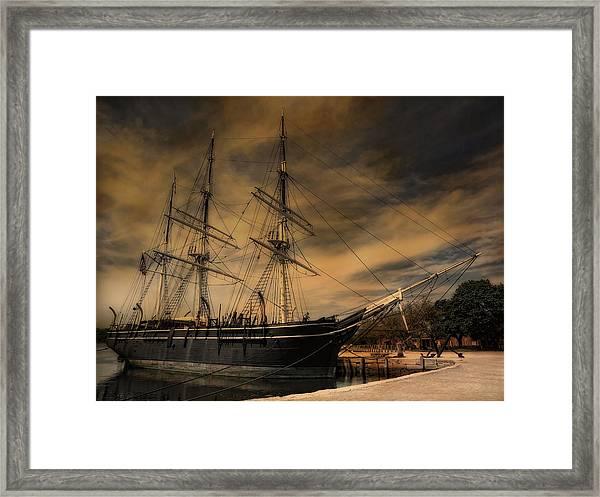 Charles W. Morgan Framed Print