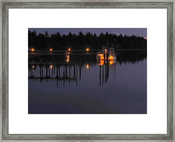 Charleston Nights Framed Print