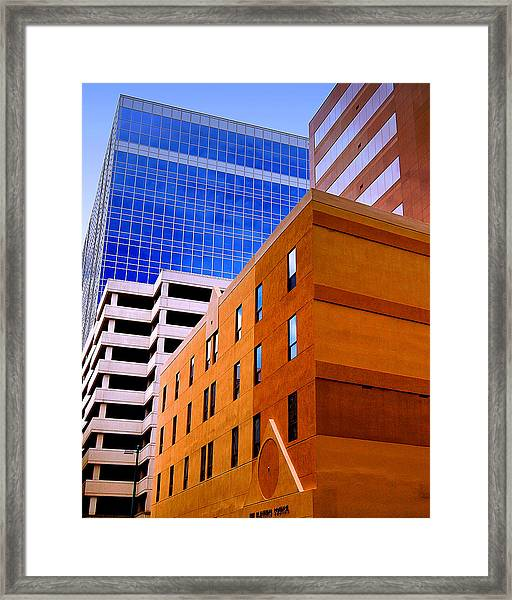 Charlotte Abstract Framed Print