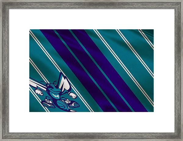 Charlotte Hornets Uniform Framed Print