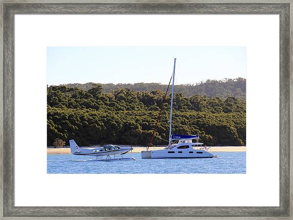 Framed Print featuring the photograph Charter by Debbie Cundy