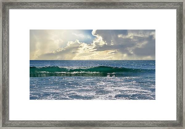 Charybdis Framed Print