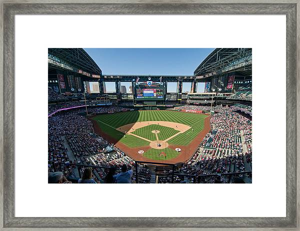 Chase Field Framed Print