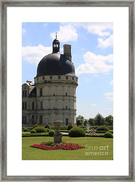 Chateau De Valencay Framed Print by Christiane Schulze Art And Photography