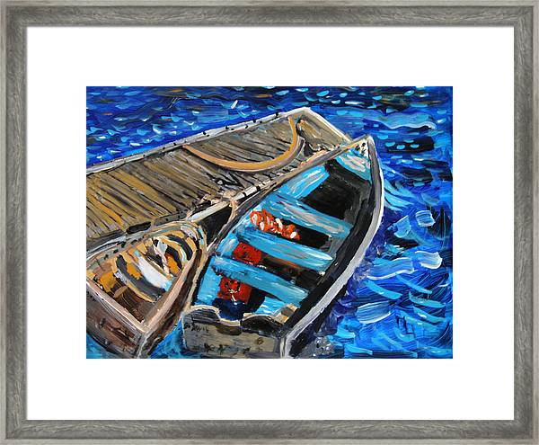 Chatham Blue Framed Print