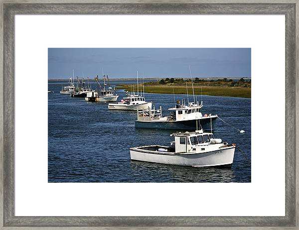 Chatham Harbor Framed Print