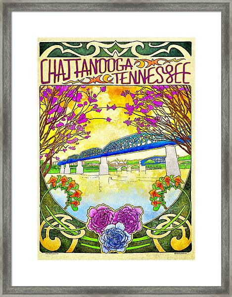 Chattanooga Tourism 1 Framed Print