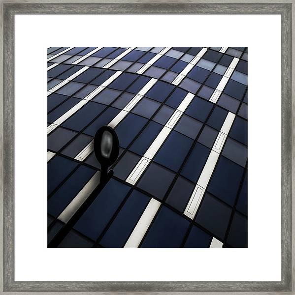 Checkerboard Framed Print