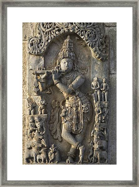 Chennakesava Temple Framed Print