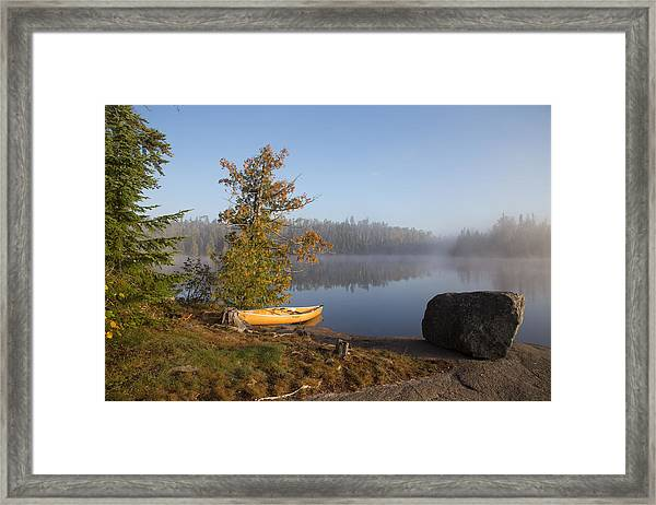 Cherokee Lake Sunrise Framed Print