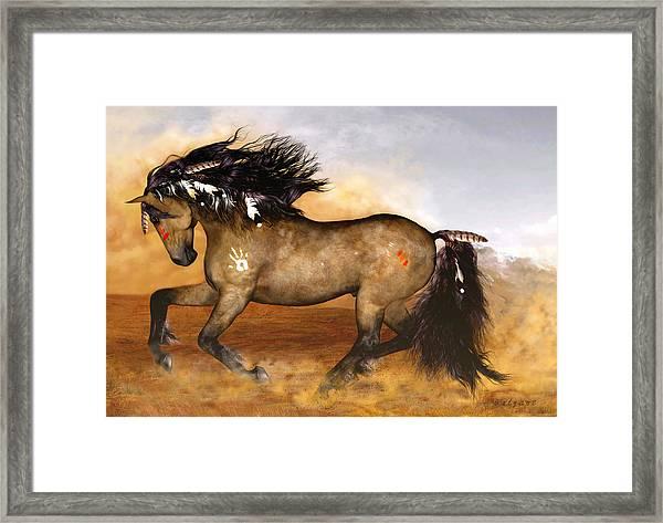 Cherokee Framed Print