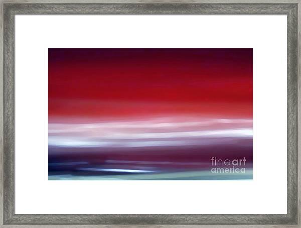 Cherrie Lightning Framed Print