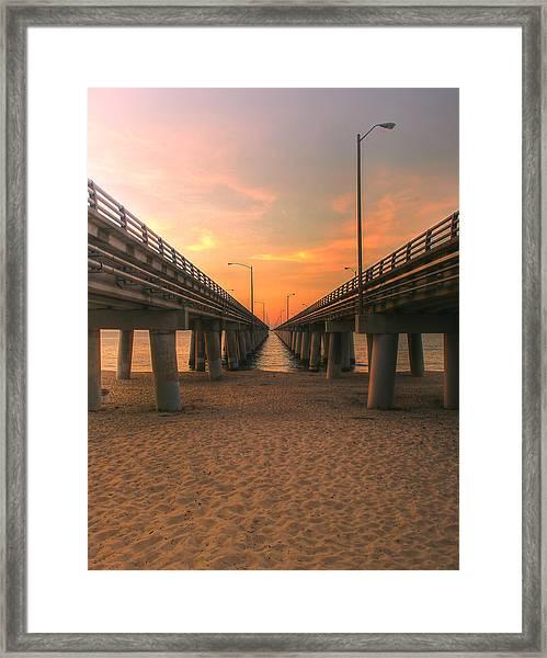 Chesapeake Bay Bridge IIi  Framed Print