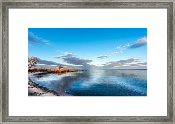 Chesapeake Bay Sky Framed Print