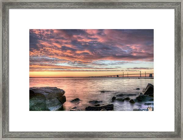 Chesapeake Splendor  Framed Print