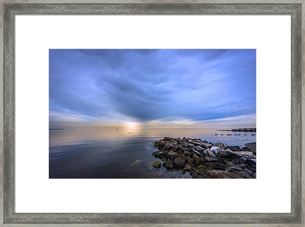 Chesapeake Sunset Framed Print