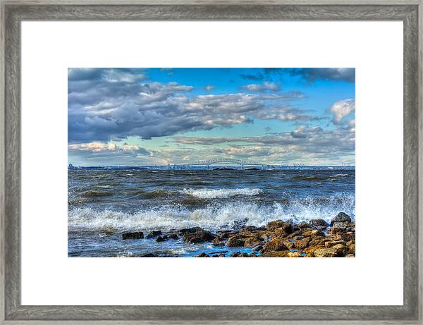 Chesapeake Winds Framed Print