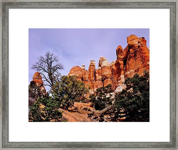 Chesler Park Pinnacles Framed Print