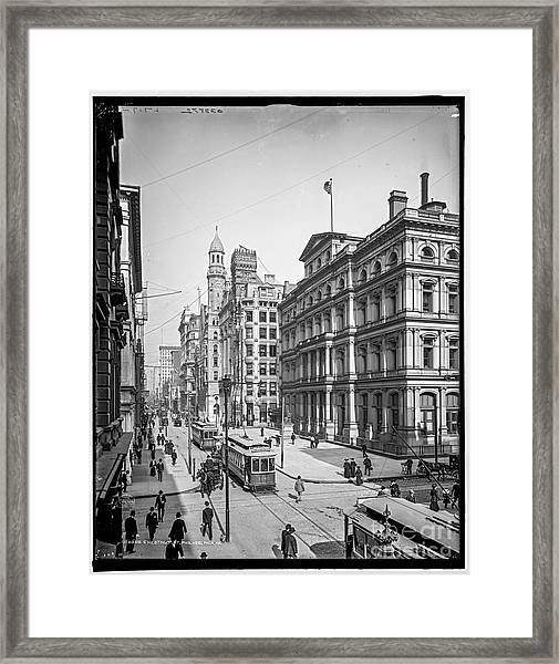 Chestnut Street Framed Print